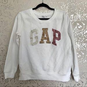 GAP Logo Pullover Sweatshirt